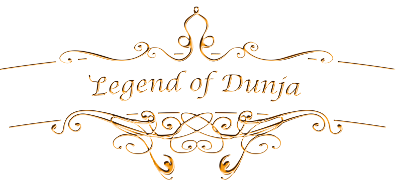 logo legend of dunja