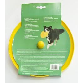 KARLIE Spielzeug SOFT FRISBEE Ufo 22cm für Hunde
