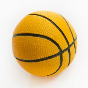 Moosgummi Ball orange klein