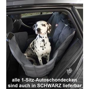 1-Sitz-Autoschondecke Doctor Bark schwarz